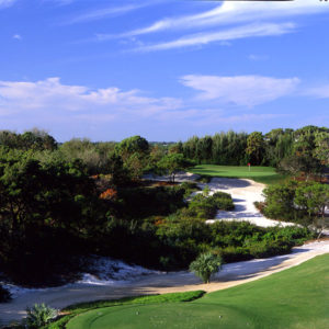 Hills Course - 9th Hole, Par 3 - 227 Yards