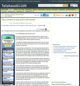 Article on Tallahassee.com that was copied from Intothegrain.com