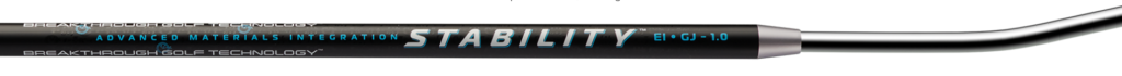 Breakthrough Golf technology - Stability Shaft